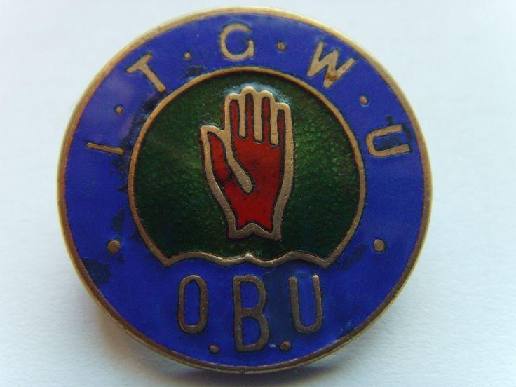 A 1930S ENAMEL BADGE IRISH TRANSPORT GENERAL WORKERS UNION DUBLIN LOCKOUT QUINN   eBay