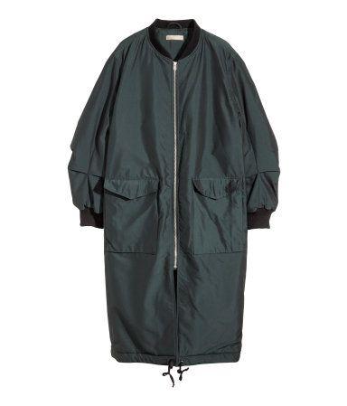 Long Bomber jacket   H&M