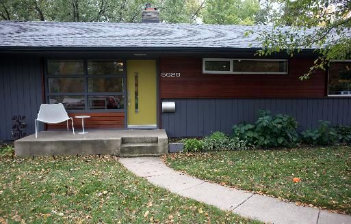 1000 images about modern exterior on pinterest for Modern rambler house plans