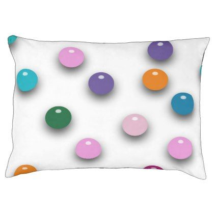 Multicolor Shimmering Polka Dots Pet Bed  $69.95  by KeeganCreations  - cyo customize personalize diy idea