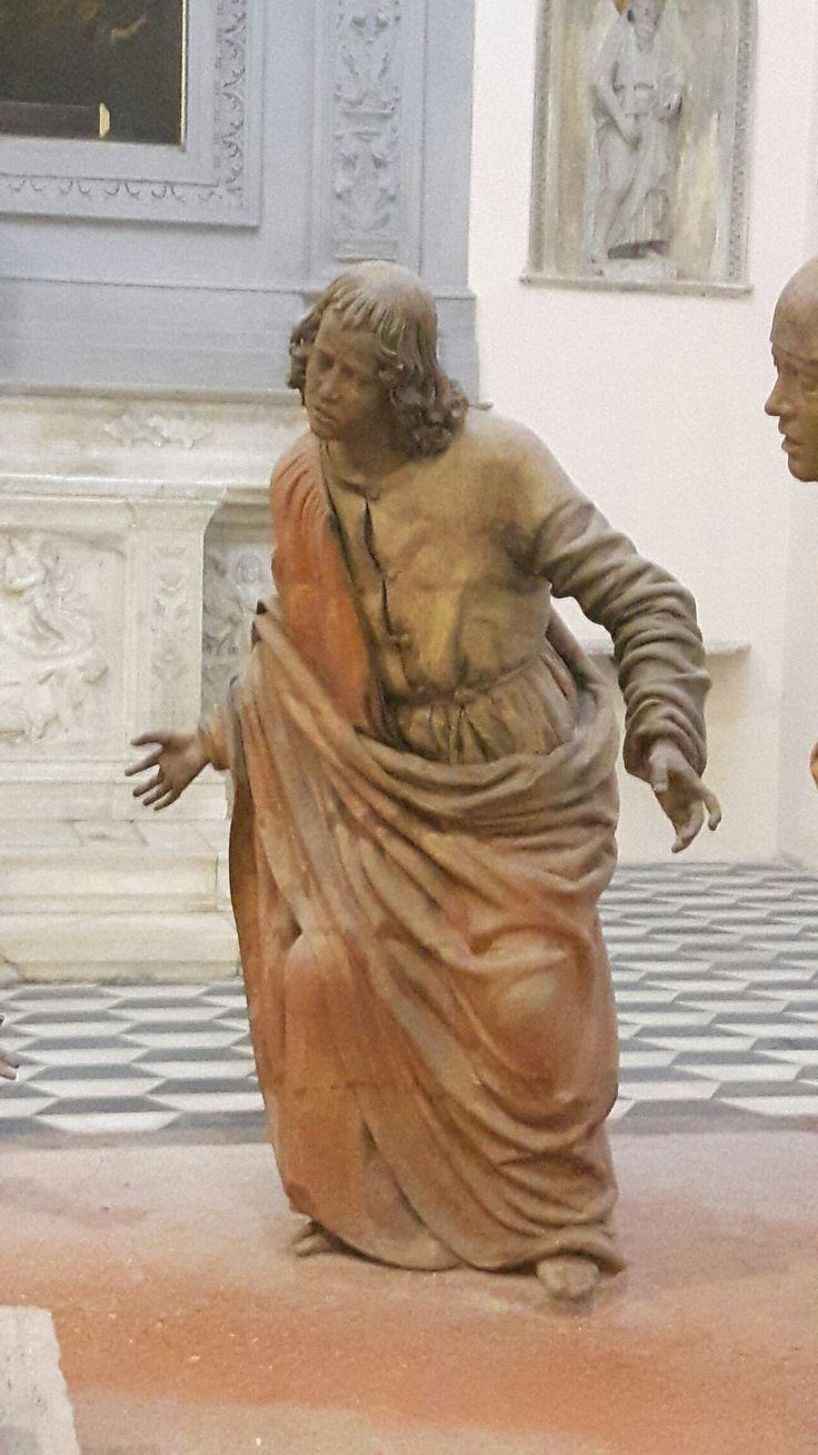 Compianto nella Cappella del Santo Sepolcro in Sant'Anna dei Lombardi.  1493