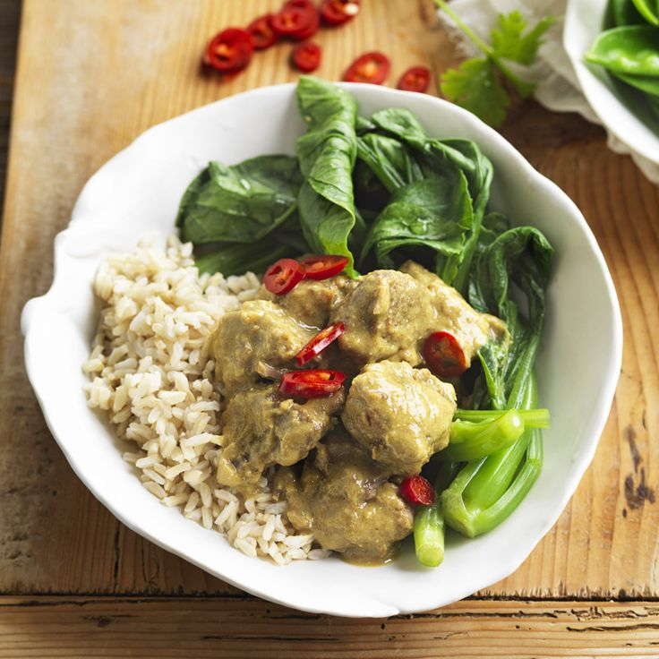 Lamb, lemongrass and coconut curry Recipe | Weight Watchers NZ