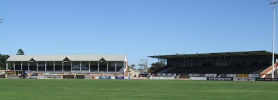 Alberton Oval - Home of the Port Magpies and Port Power