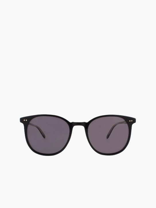 Garrett Leight Rialto Sun in Black/Super Black Polar #GLCO