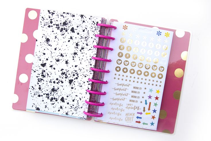 DIY Happy Planner™ Sticker Book by mambi Design Team member Jennie McGarvey | me & my BIG ideasa