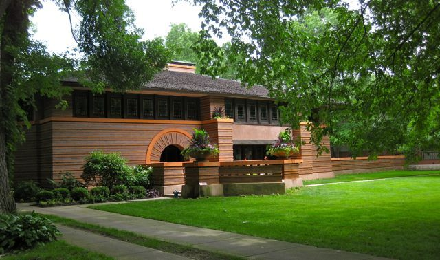 315 best frank lloyd wright images on pinterest for Frank lloyd wright craftsman