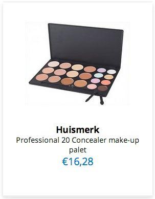 Pro 20 Concealer Make-up Palet www.ovstore.nl/nl/nieuw/nieuwste-producten