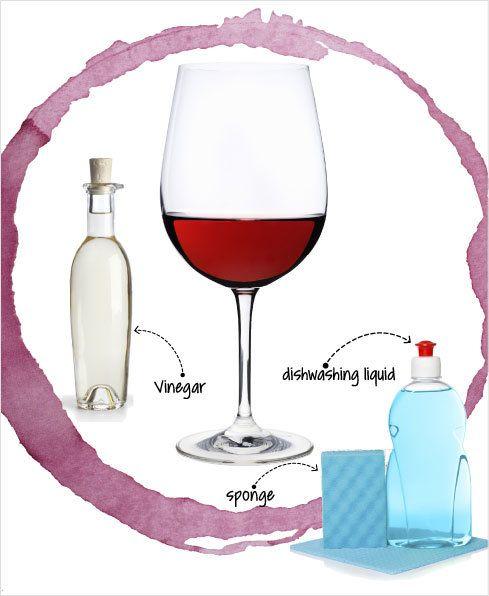Try these wine-stain-removal tips to banish scarlet splotches for good