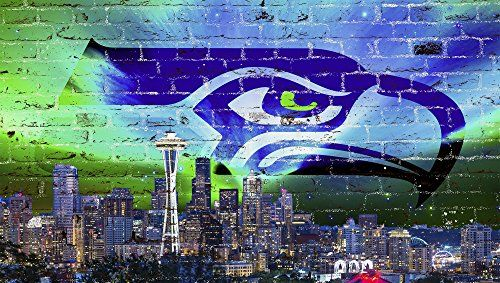 "Seattle Skyline Football (39"" x 22"") Chicago Walls http://smile.amazon.com/dp/B00ODNSKSY/ref=cm_sw_r_pi_dp_NpeMub1RE4ZWW"