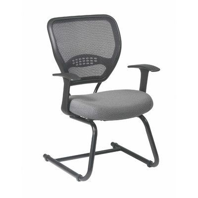 Office Star Space Seating Professional Guest Chair Fabric: Nano-Texwith BioAm - Sojourn Green Tea