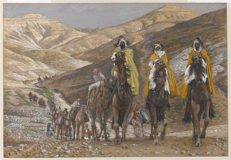 The Magi Journeying (Les rois mages en voyage) : James Tissot : Free Download & Streaming : Internet Archive