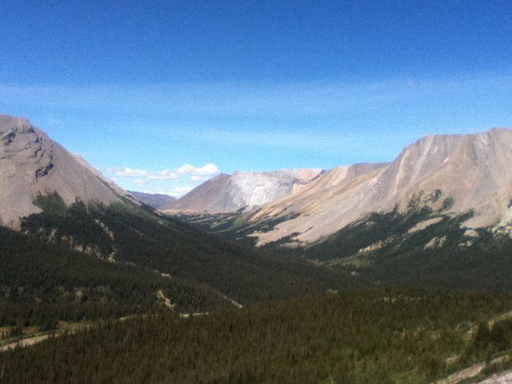 Glacier Lake trail