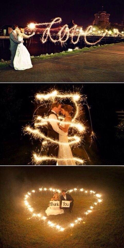 Wedding Sparklers!