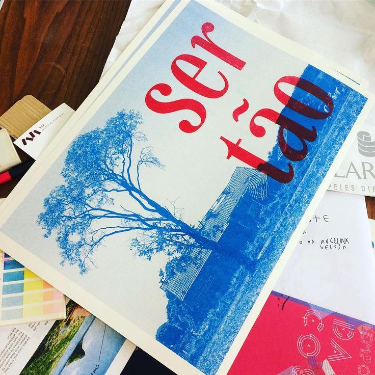 typography risograph riso printing eller type sagarana tipografia design gráfico graphic