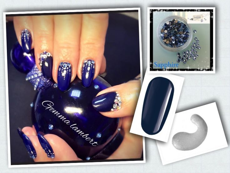 gel polish design by gemma lambert