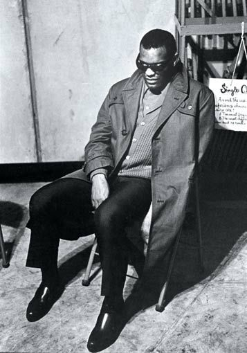 Ray Charles, musician. One of the first african-american musicians to be given artistic control by a mainstream record company. regarded as a pioneer of soul music by fusing rhythm and blues, gospel, and blues styles.