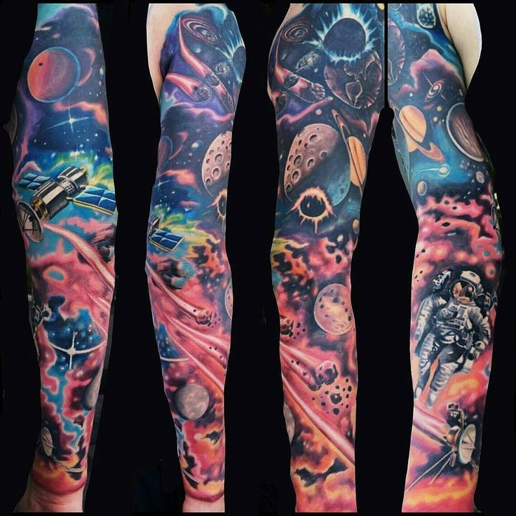 45 Space Tattoo Ideas For Astronomy Lovers Designbump: 25+ Best Ideas About Outer Space Tattoos On Pinterest