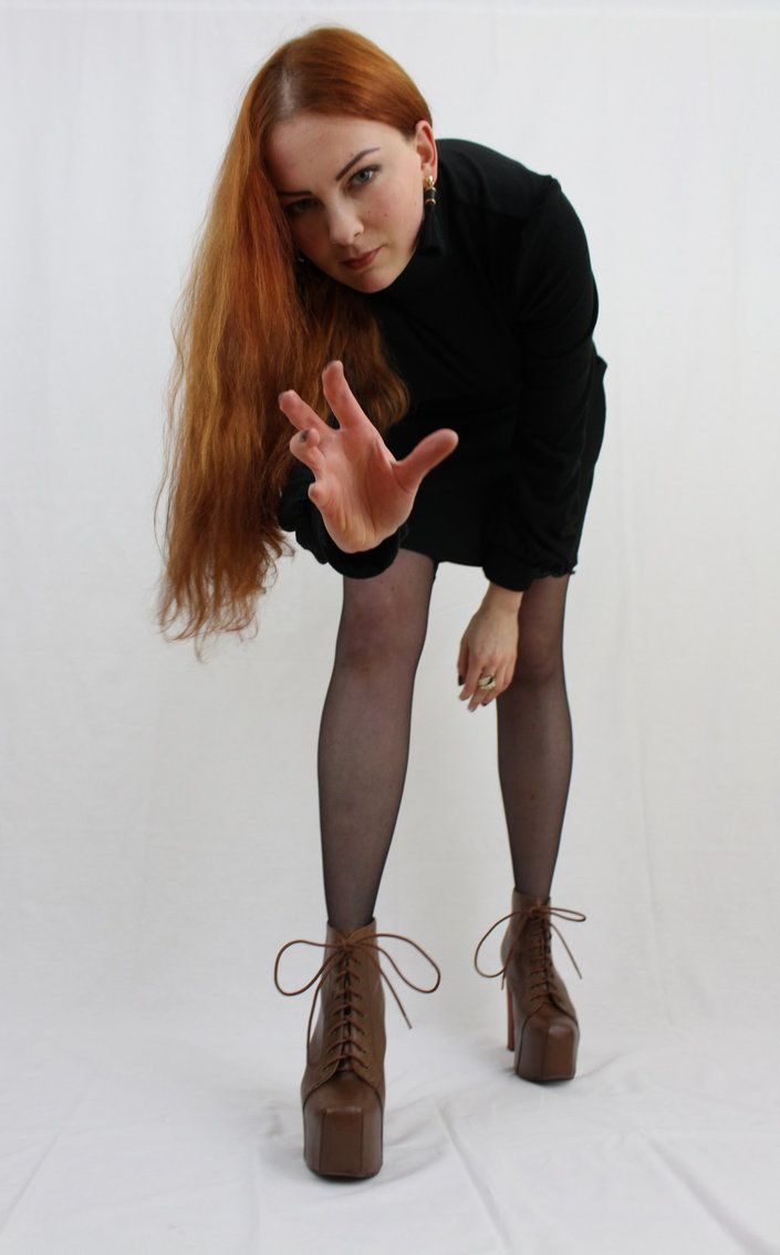 This lovely black jumper-dress is a gift from my worshipper and friend You can admire his beautiful creations with my images in my giantess gifts folder:amarie-tinuviel.deviantart.com…...