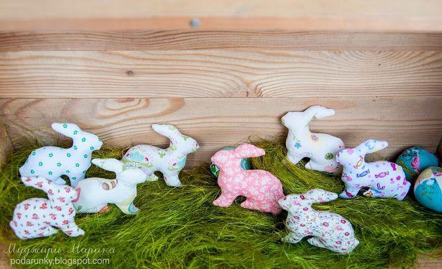 Добрые подарки: Пасхальные кролики (новые расцветки)