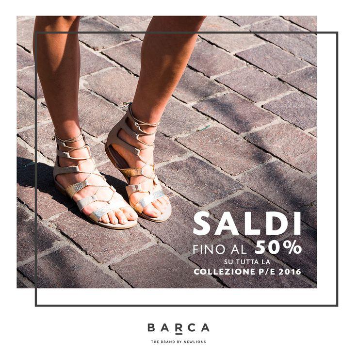 Approfitta dei #saldi fino al 50% per acquistare quei #sandali bassi che tanto ti piacciono ;) Greek sandals, #etnici, colorati o con pietre, tantissimi modelli in esclusiva per te su #barcastores