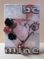 Be Mine Decoupage Canvas