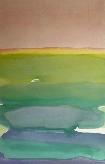 Gretchen Albrecht — Untitled (West Coast Sky)