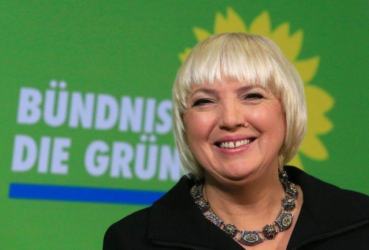Claudia Roth Chefin Bundnis 90 Die Grunen