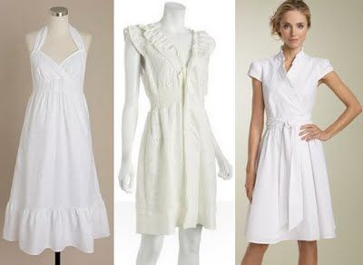 Trend: Decorating / Dressing Up with Summer Whites