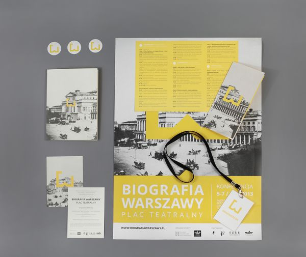 WARSAW'S BIOGRAPHY CONFERENCE by Ania Światłowska, via Behance