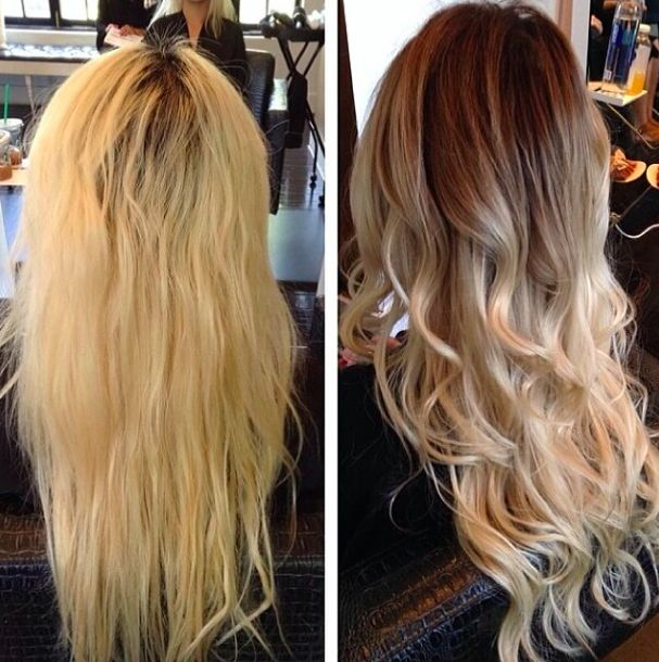 blonde color correction by Shlaylee Blatz