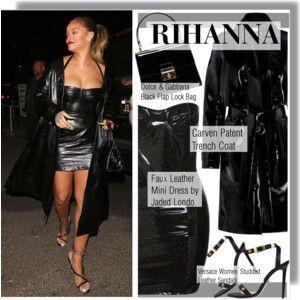 Rihanna arriving at Jay-Z's Concert