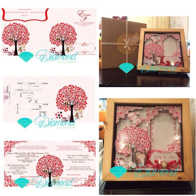 Package invitation and souvenir scrapbook frame 20x20 ... Include box and ribbon ... Idr 100.000 #souvenirpernikahan #souvenirnikah #weddinghampers #weddingsouvenir #weddingsouvenirjakarta #birthdaysouvenir #pernikahan #parcel #hampers #hampersjakarta #souvenirjakarta #souvenirwedding #souvenirbirthday #souvenirulangtahun #souvenirpernikahan#undangan #undangannikah