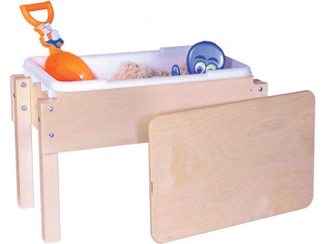 Junior Wooden Sand and Water Table with Lid