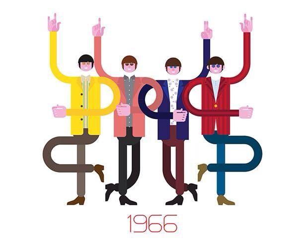 The Beatles art, 1966