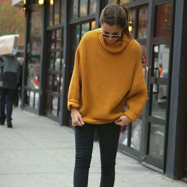 5 Styling Tips Que Vão Te Deixar Mais Magra #sweater #skinny