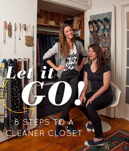 let it go: a closet makeover on design*sponge