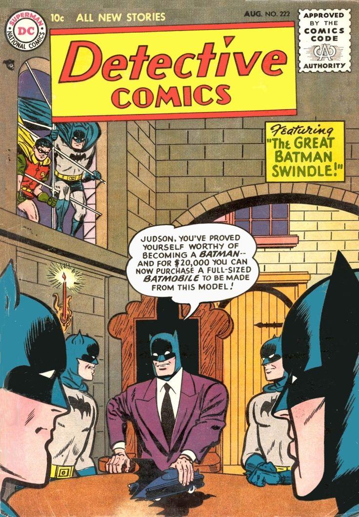 Detective Comics 222 Batman Comic Cover hi-res