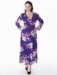 Mousseline de Soie Robe Femme Grandes Tailles Bohème,Imprimé Col en V Maxi Manches Longues Bleu Beige Coton Polyester Eté Taille Normale