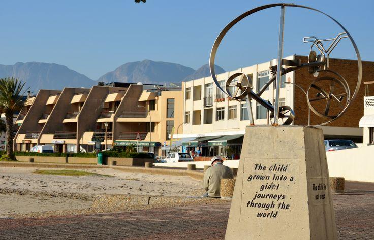 Ingrid Jonker Memorial - on Gordon's Bay beach walkway. #GordonsBay #CapeTown