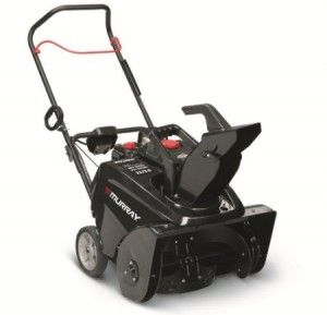 Murray 1695885 Gas Powered Single Stage Snow Thrower