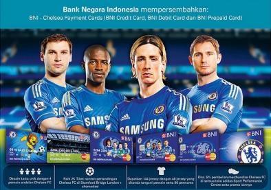 Kartu Kredit BNI Chelsea