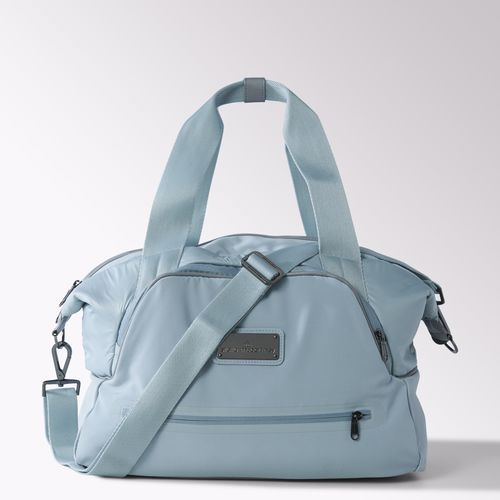 d1fb3683557 Equal parts sporty and feminine, the adidas by Stella McCartney Iconic  Small Bag is made in polyester fleece with a roomy main compartment and two  zip front ...