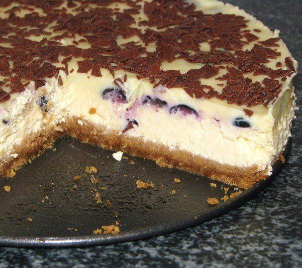 New York cheesecake cu afine - Galerie foto