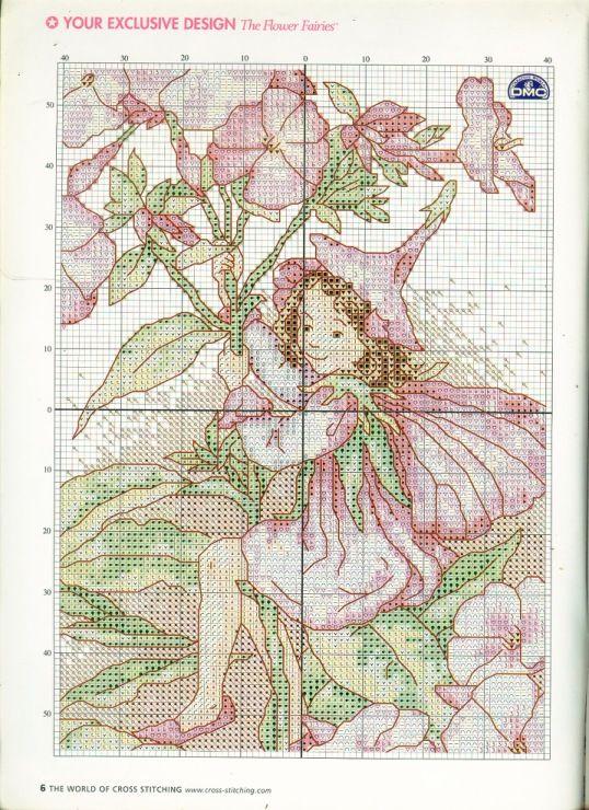 phlox fairie  Gallery.ru / Фото #6 - The world of cross stitching 063 октябрь 2002 - WhiteAngel