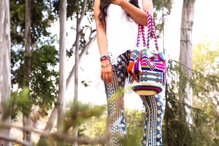 Wayuu Mochila Bags with amazing Handmade Patterns. Check this out for your fashion forecast. www.wayuutribe.com