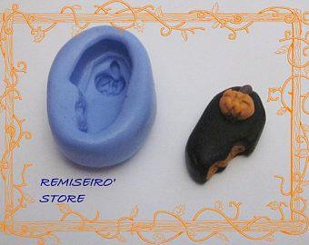 Stampo in silicone zucca di Halloween bara