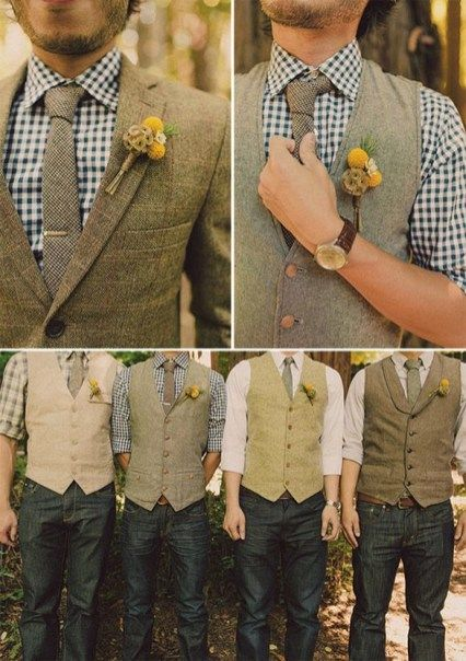 Country Style Groomsmen Attire (47)