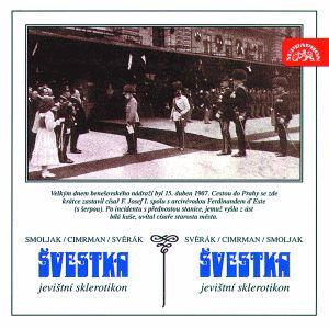 Divadlo járy Cimrmana na 2 CD Švestka