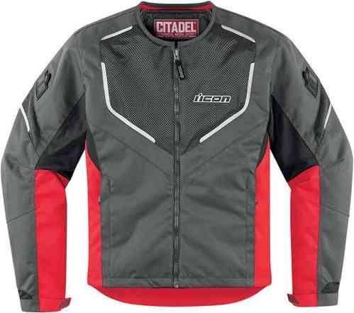 Prezzi e Sconti: #Icon citadel mesh textile jacket rosso  ad Euro 209.90 in #Icon #Abbigliamento sportivo uomo