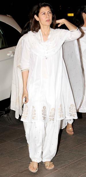 Actress Sangeeta Bijlani at Bobby Chawla's prayer meeting